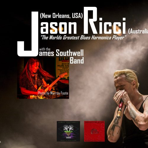 Jason Ricci with the The James Southwell Band