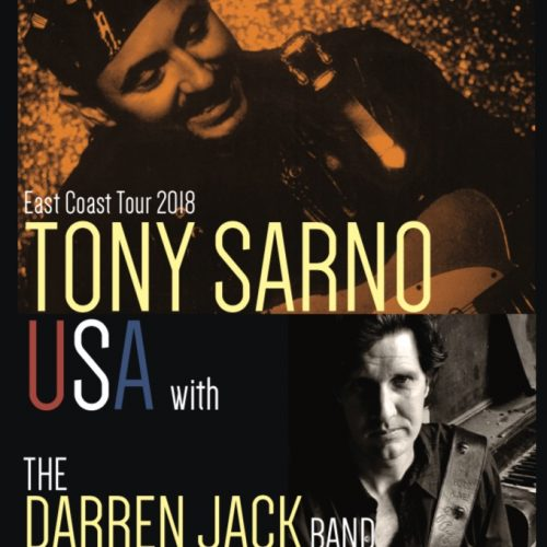 Tony Sarno (USA)  feat. Darren Jack Band